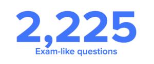 2225 Bar Exam Questions on BarPrepHero