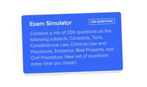 BarPrepHero Exam Simulations
